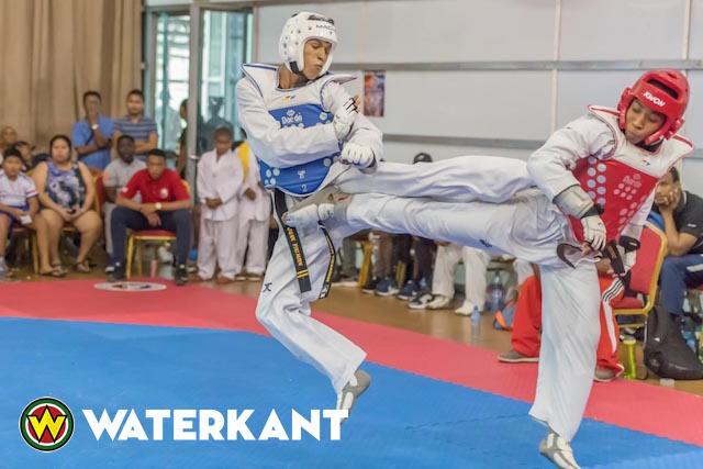 Suriname nummer 1 op Taekwondo Tournament