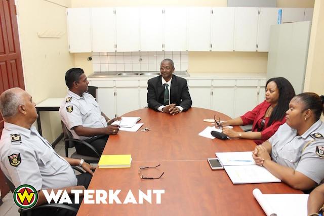 Kennismakingsbezoeken bij justitie in Suriname