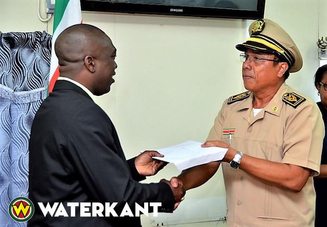 Districtsbegrotingen naar minister Regionale Ontwikkeling