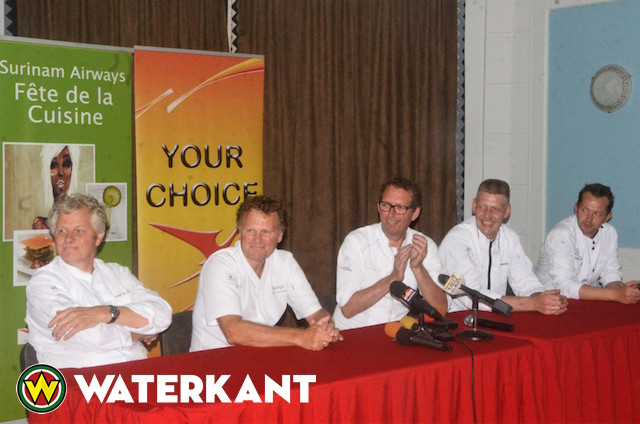 Nederlandse Michelinsterrenchefs in Suriname