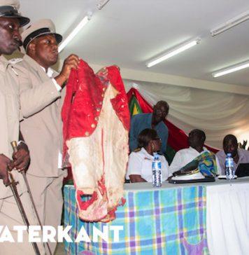Conflict over granmanschap van de Saamaka stam in Suriname
