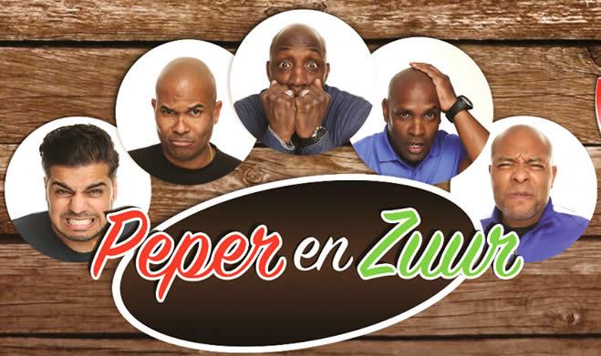 Nieuw Surinaams gesproken comedy-toneelstuk 'Peper en Zuur'