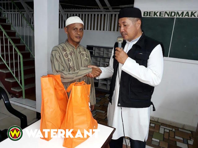 VHP doneert voedselpakketten aan moskeeën