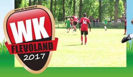 Zevende editie van WK Flevoland voetbaltoernooi