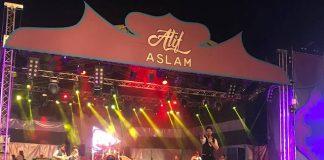 Geslaagde show Atif Aslam in Suriname