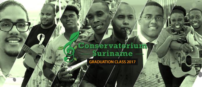 Conservatorium Suriname levert eerste afgestudeerden af