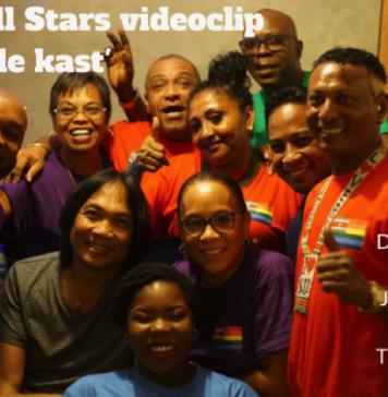Launch Allstars music videoclip 'Kom uit de Kast'