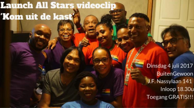 Launch Allstars Music Videoclip Kom Uit De Kast Waterkant