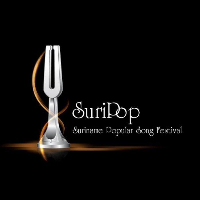 Twintigste editie Suripop wordt 'The Golden Suripop'