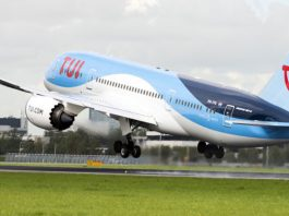 TUI zet ook in de winter Dreamliner in naar Suriname