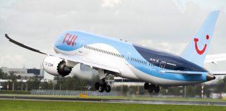 TUI zet ook in de winter Dreamliner in naar Suriname