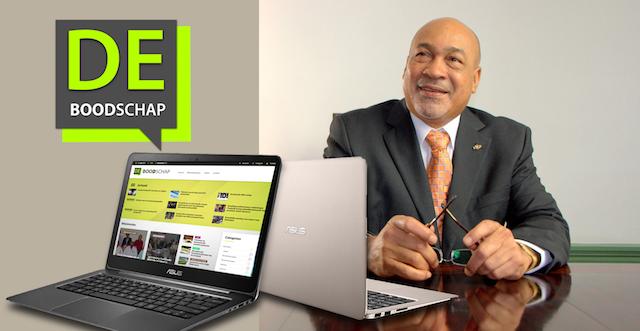 Suriname krijgt eigen overheidsnieuwssite