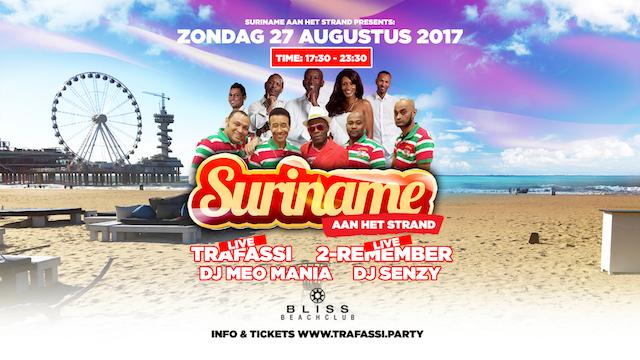 Suriname aan het Strand: zondag 27 aug Scheveningen