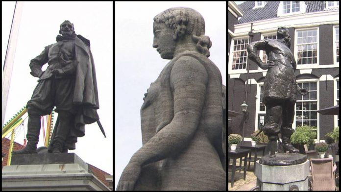 'Ook omstreden standbeelden in Nederland'