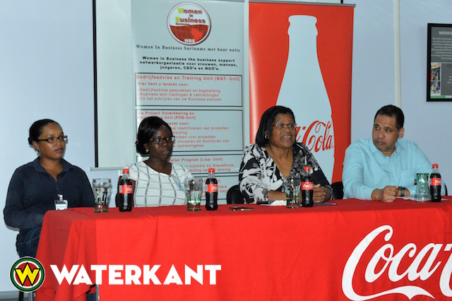 Coca-Cola steunt Woman in Business Suriname