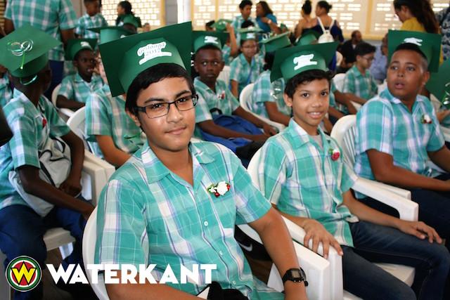 St. Elisabethschool 2 scoort goed bij examens in Suriname