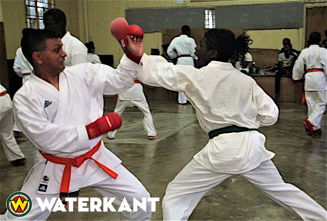 Bestgeslaagde voor Karate Kyu-examen in Suriname