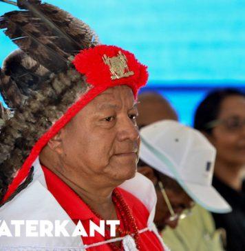 Nieuwe voorzitter Vereniging Inheemse Dorpshoofden in Suriname