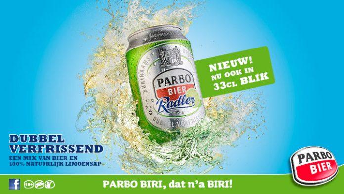 PARBO RADLER nu ook in 33cl blik verkrijgbaar