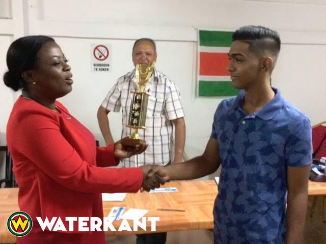 Jeugd Damkampioen van Suriname naar Polen