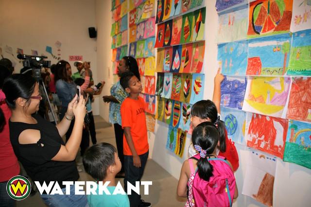 Einde vakantieproject Nola Hatterman Art Academy in Suriname