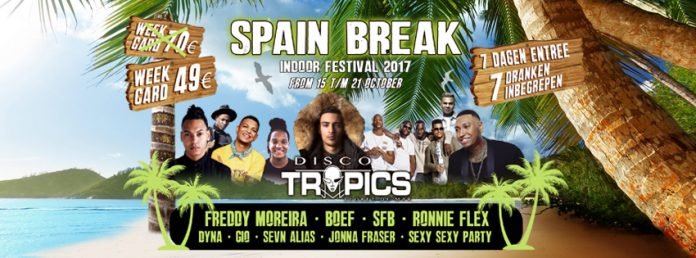 Spain Break: Indoor Festival in Lloret de Mar(Spanje)
