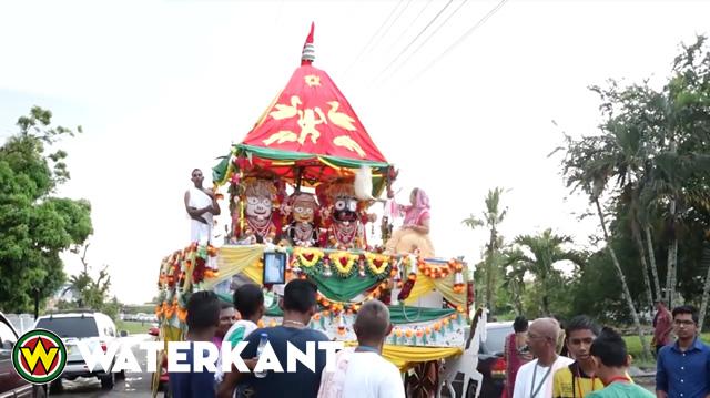 Tweede Ratha Yatra Festival in Suriname