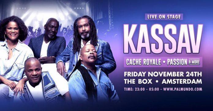 Kassav live in Amsterdam op vrijdag 24 november