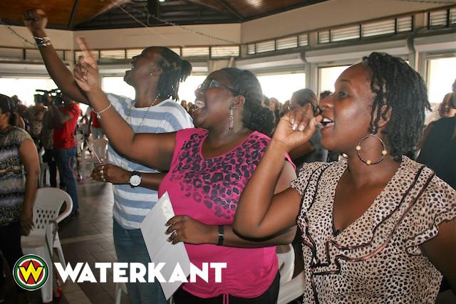 Leerkrachten Suriname maken zich op voor lange strijd