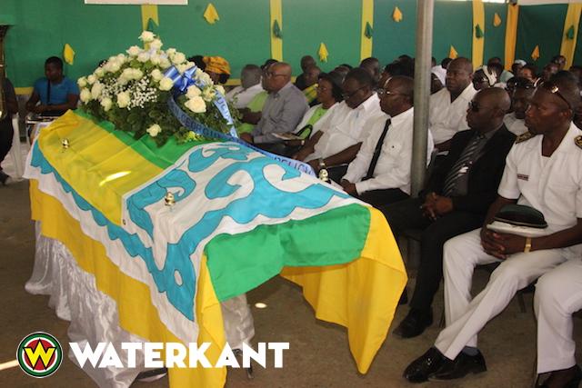 Ex-parlementariër Ronny Pansa begraven