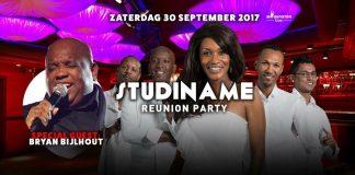 Studiname Reunion Party zaterdag 30 september