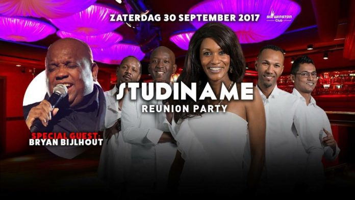Studiname Reunion Party zaterdag 30 september