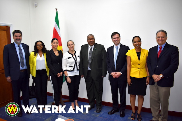 Delegatie Inter American Development Bank in Suriname