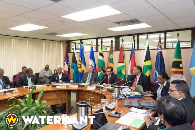 Suriname op COTED vergadering in Guyana