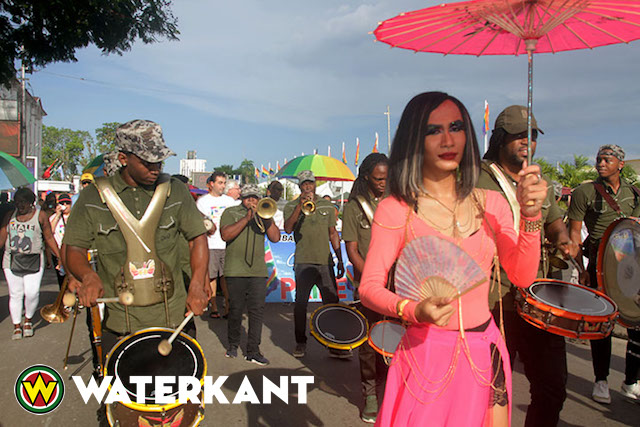 Coming Out Parade in Suriname
