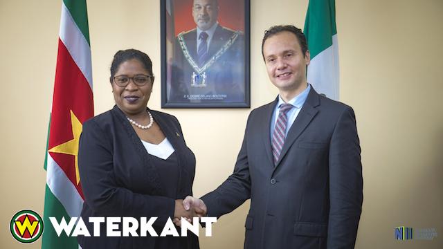 Minister ontvangt ambassadeur van Mexico in Suriname