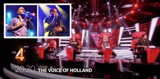 Bryan Muntslag en Lloyd de Meza in Voice of Holland