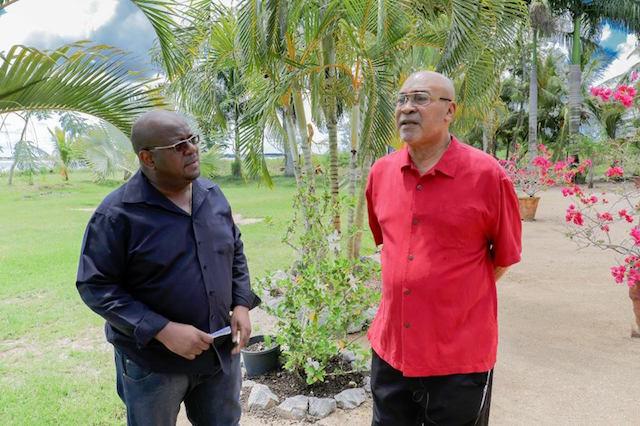 Interview met president Suriname over zijn gezondheidstoestand