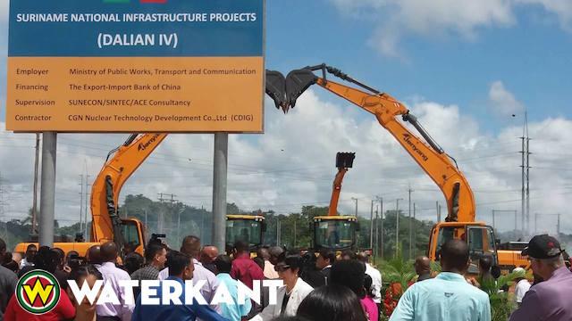 Bruggen en wegen Suriname worden aangepakt met Dalian IV project