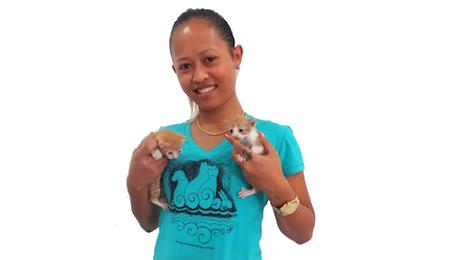 T-shirt Dierenbescherming Suriname i.v.m. Dierendag