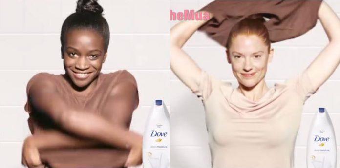 Dove biedt excuses aan voor racistische douchegel-reclame
