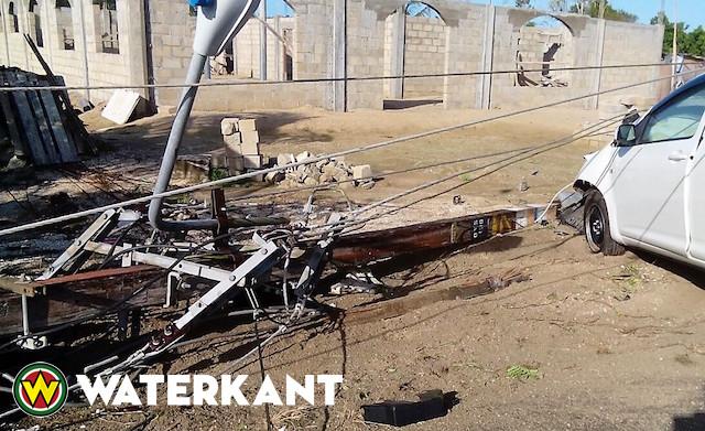 Veel schade aan masten EBS door verkeersongevallen