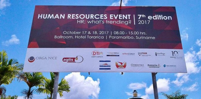 7de editie van Human Resources event Suriname