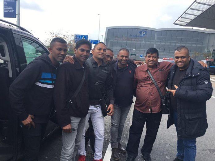 The Juniors uit Suriname op bezoek in Nederland