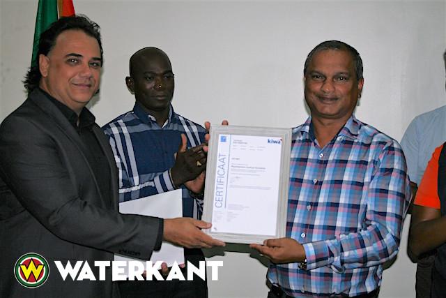 ISO certificering Psychiatrisch Centrum Suriname