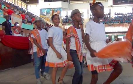 Muziek festijn 'Pikin Poku-festival' in Suriname