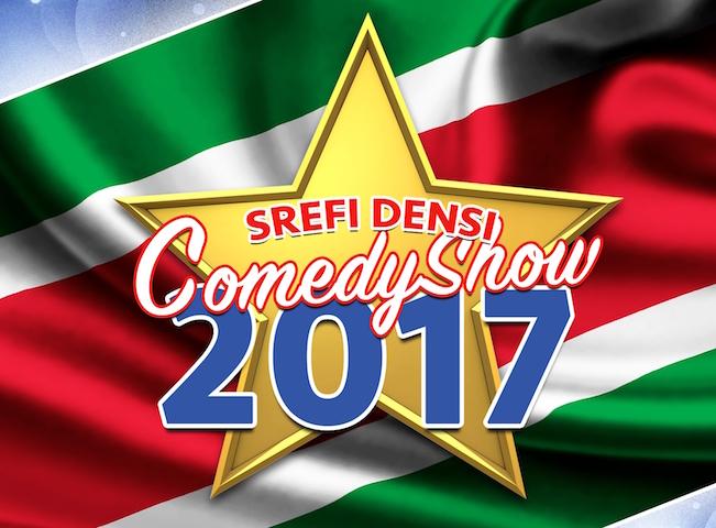 Grote Srefidensi comedy show in Amsterdam