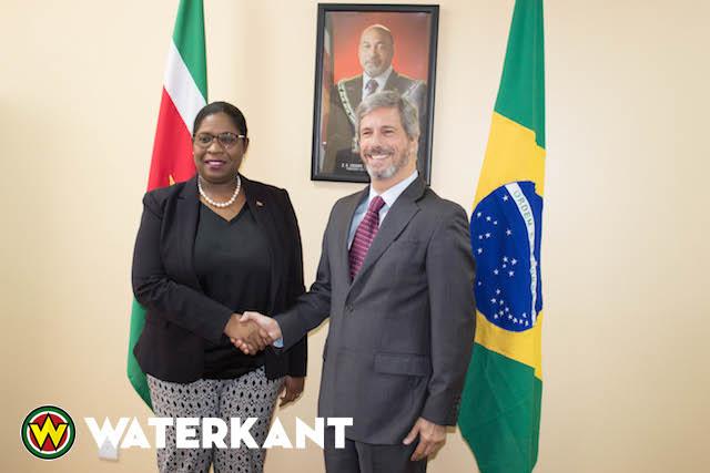 Nieuwe Braziliaanse Ambassadeur in Suriname