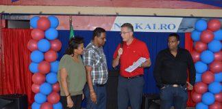 Certificering aannemingsbedrijf Kalro in Suriname