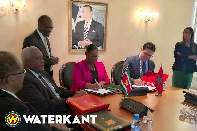 Samenwerking Suriname en Marokko